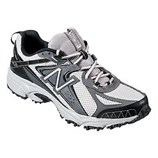New Balance MT411 Running Shoe for Men - Gray/Black