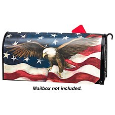 Magnet Works MailWraps Magnetic Mailbox Cover - American Pride by Susan Winget