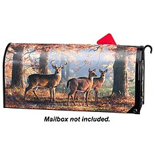 Magnet Works MailWraps Magnetic Mailbox Cover - Deer by the Hautman Brothers