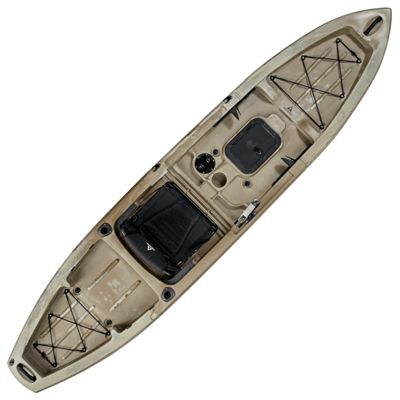 Ascend fs12t sit on top angler kayak desert storm bass for Bass pro fishing kayak