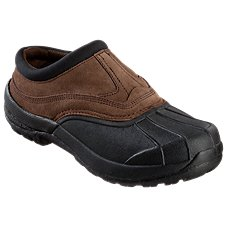 RedHead All Weather Leather Clogs for Men