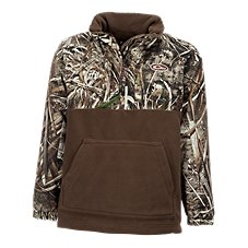 Drake Waterfowl Systems MST Eqwader 1/4-Zip for Youth