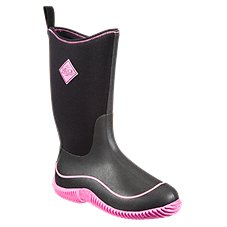 The Original Muck Boot Company Hale Mid 12'' Waterproof Sport Boots for Ladies - Black/Pink