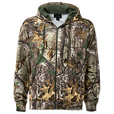 RedHead Tech Fleece Full Zip Camo Jacket for Men