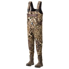 LaCrosse AeroTuff Insulated Boot-Foot Waders for Men - Realtree MAX-5