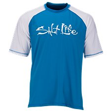 Salt Life Tides Aqua Shirt for Men