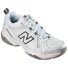 New Balance 608v4 Training Shoes for Ladies - White