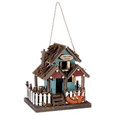 Sunset Vista Designs Lake Front Cottage Wooden Birdhouse