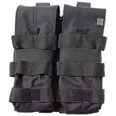 5.11 Tactical AR15 Mag Pouch - Double 5.56 Bungee/Cover