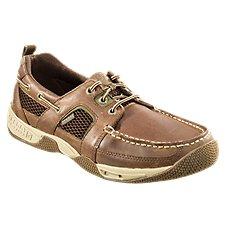 Sperry Sea Kite Sport Mocs for Men - Dark Brown