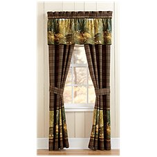 Bass Pro Shops Whitetail Birch Collection Drapes or Valance