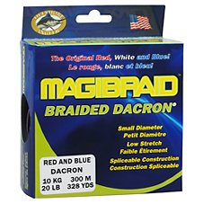 Offshore Angler Magibraid Tournament-Grade Dacron Trolling Fishing Line - 300 Meter Spools