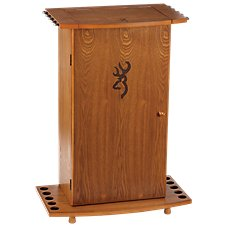 Browning Fishing Rod Storage Cabinet