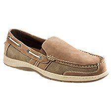 World Wide Sportsman Lake Front Slip On Boat Shoes for Men