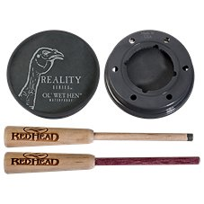 RedHead Reality Series Ol' Wet Hen Friction Turkey Call - Slate over Glass