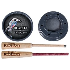 RedHead Reality Series Ol' Wet Hen Turkey Call - Glass over Slate
