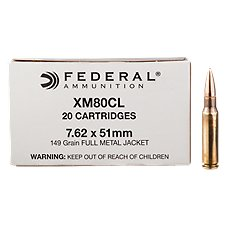 Federal Lake City Rifle Ammo