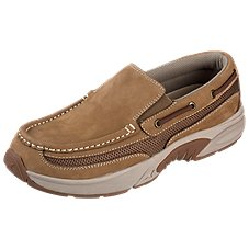 Rugged Shark Pacifico Slip-On Shoes for Men - Tan