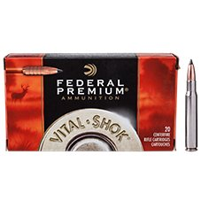 Federal Premium Vital-Shok Trophy Copper Rifle Ammo