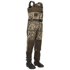Drake Waterfowl Systems LST Eqwader 2.0 Bootfoot Waders for Men - Mossy Oak Shadow Grass Blades