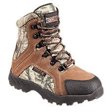 ROCKY Hunting Waterproof Insulated Boots for Toddlers or Kids