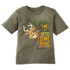 Bass Pro Shops Up To Something T-Shirt for Toddlers