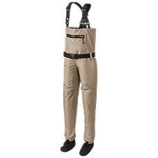 White River Fly Shop Classic Chest-High Stocking-Foot Breathable Waders for Kids