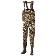 RedHead Bone-Dry Waterproof Big Man Neoprene Boot-Foot Waders for Men