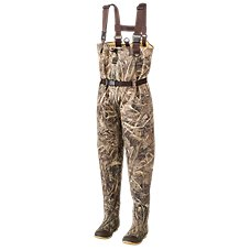 RedHead Bone-Dry Waterproof Hobbs Creek Chest Waders for Kids or Men