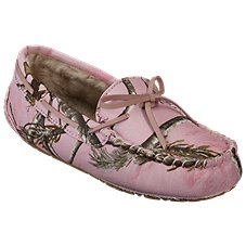 Natural Reflections Camo Tracker Slippers for Ladies