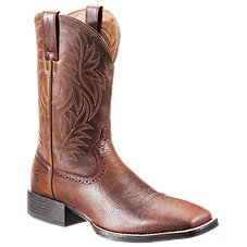 Ariat Sport Western Wide Square Toe Western Boots for Men