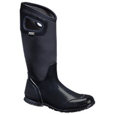 BOGS North Hampton Solid Waterproof Rubber Boots for Ladies