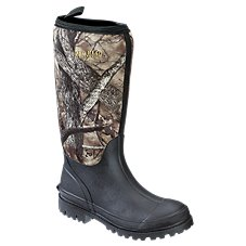 RedHead Camo Utility Waterproof Rubber Boots for Toddlers or Kids