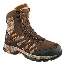 Wolverine Boone Insulated Waterproof Hunting Boots for Men