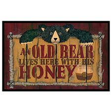 Bass Pro Shops Old Bear Welcome Mat