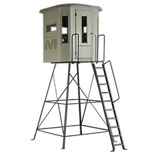 Muddy The Bull Box Hunting Blind with 10' Tower