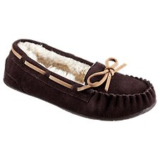 Natural Reflections Trapper Moc Slippers for Ladies