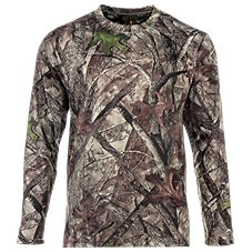 RedHead Scent Control Camo Thermal Crew for Men
