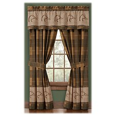 Ducks Unlimited Plaid Collection Drapes or Valance