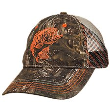 Bass Pro Shops Fish Mesh Back Cap for Kids