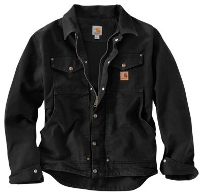 Carhartt Berwick Fleece-Lined Jacket for Men | Bass Pro Shops