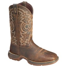 Durango Rebel 12'' Steel Toe Pull-On Western Boots for Men