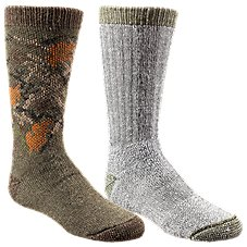 RedHead Camo Green Cub Kids Socks - 2-Pair Pack