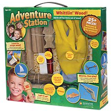 Brand 44 Whittlin' Wood Adventure Station for Kids