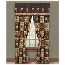 Browning Country Collection Drapes or Valance