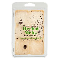 Swan Creek Candle Cafe Au Lait Scented Herbal Wax Melts