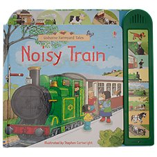 Noisy Train Book for Kids by Sam Taplin