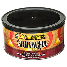 Bass Pro Shops Uncle Buck's Sriracha Ranch Extra Large Virginia Peanuts