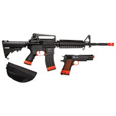 Crosman Defender Strike Kit Airsoft Rifle and Pistol