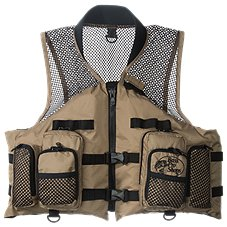 Life jackets bass pro shops for Bass fishing life jacket